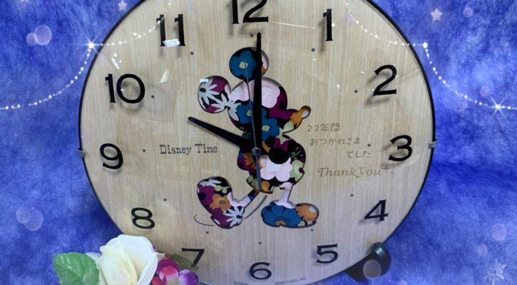掛け時計名入れ